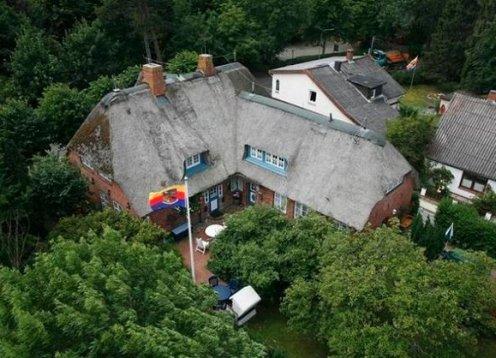 Romantische Ferienwohnung auf Föhr im Kapitänshaus in Boldixum