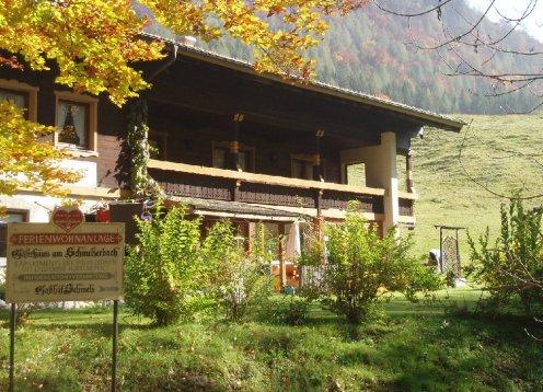 Gästehaus am Schmelzerbach in Inzell