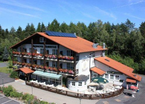 Waldhotel - Rasthof  Hubertus in Eisfeld - Hund erlaubt