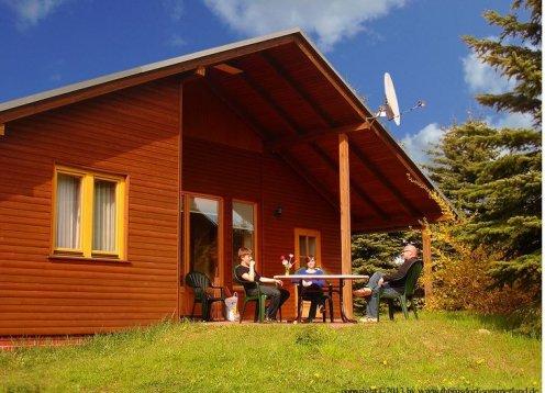 Ferienhäuser auf der Ferienanlage Thomsdorf Sommerland
