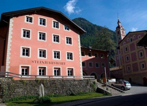 Hotel Steinhauswirt im Ahrntal - Steinhaus Südtirol mit Hund