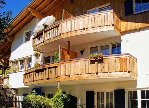Landhaus Eberle in Mittelberg Kleinwalsertal - Hundefreundliches Haus
