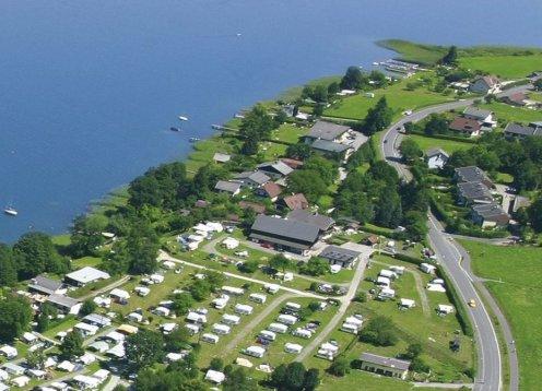 Camping Plörz am Ossiacher See in Kärnten - Hund erlaubt