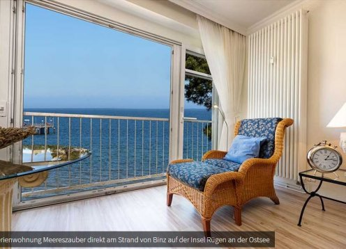 Ferienwohnung Meereszauber in der Villa Freia in Binz auf Rügen