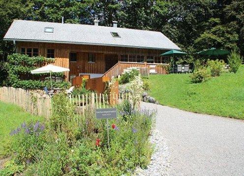 Ferienhaus Bregenzerwald - Wohnung Alm - in Bizau mit Hund