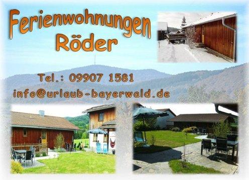 Urlaub mit Hund im Bayerischer Wald - Ferienwohnung Röder