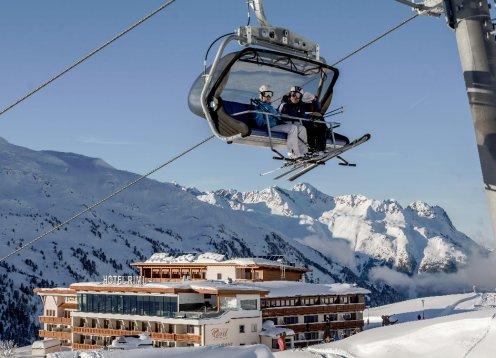Ski- und Golfresort Hotel Riml im Ötztal in Tirol - Obergurgl mit Hund