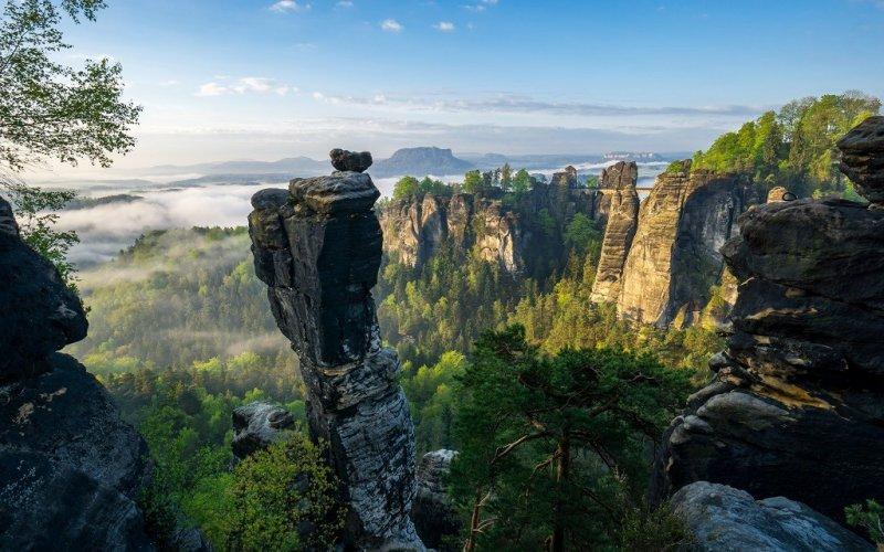 Sachsen - nicht nur Elbsandsteingebirge und Dresden